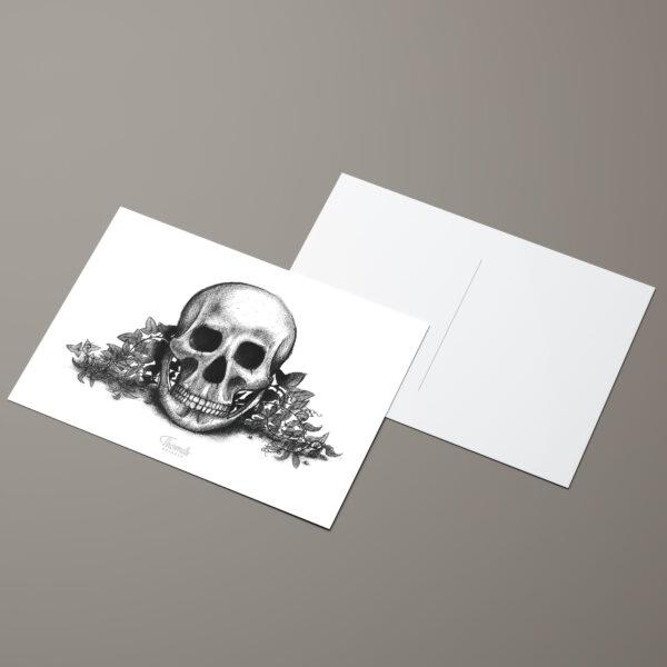 Vanité, carte postale